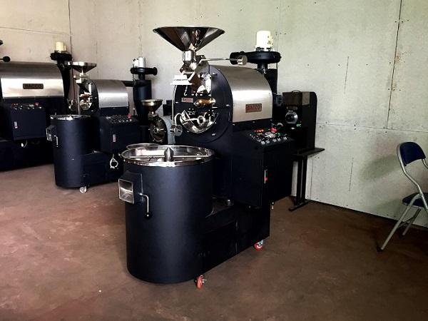 máy rang cà phê 5kg hiện đại